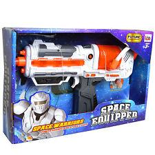 I guerrieri dello spazio-Galactic MINI UZI pistola giocattolo Galaxy Trooper con suono/luci