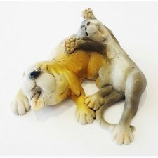 Giftware  Very Very Tired Dog/Cat Figurine Made from polyresin