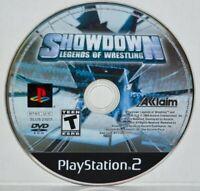 Legends of Wrestling: Showdown (Sony PlayStation 2, 2004) PS2 Black Label MINT