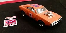 hot wheels general lee budget decals