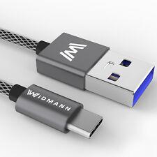2m USB-C USB Kabel 2.0 Typ C Ladekabel Datenkabel Smartphone Samsung S8