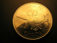 Canada 1999 Millennium April 25 Cent Mint Grade Coin