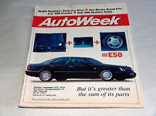 autoweek MAGGIO 1996 Car Truck RIVISTA MERCEDES BENZ GRANDE 4 DOOR E50 CLASS