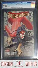 2015 MARVEL COMICS SPIDER-WOMAN #1 MILO MANARA 1:50 COVER VARIANT CGC 9.8 A5731