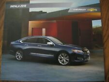 2018 Chevrolet Impala brochure literature specifications 28 pages