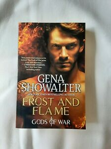 Frost and Flame by Gena Showalter Book 2 Gods Of War Series (Paperback, 2019)