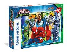 Clementoni Kinderpuzzle 104 Maxi Teile Marvel: Spiderman vs Sinister 6 (23704)