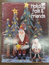Holiday Folk & Friends by Jill Botts, Decorative Painting Book