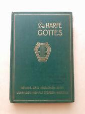 Die Harfe Gottes 1926 Wachtturm Zeugen Jehovas vorher Bibelforscher