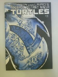 2ndTeenage Mutant Ninja Turtles #2 Mirage Laird 1984 2nd Print Awesome Condition