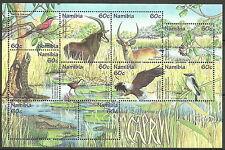 Namibie - Faune + Flora la Caprivi Zaki Bloc 44 menthe 1998 Mi. 958/67
