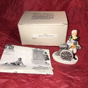 SEBASTIAN MINIATURES GEORGE WASHINGTON 6001 / SIGNED BY CREATOR / NEW IN BOX