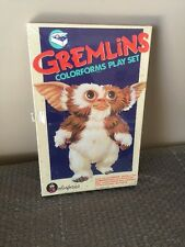 1984 GREMLINS COLORFORMS PLAY SET Stripe Gizmo Steven Spielberg- FACTORY SEALED!