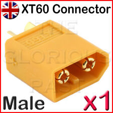 x1 - XT60 MALE 65A High Current High Performance RC Connectors LiPo Battery