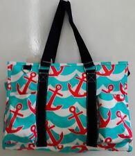 Multi Pocket Organizer Tote Moms Nurses Teachers Love Them! Canvas Beach Cruise