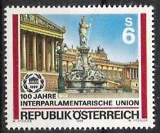 Österreich Nr.1964 ** 100 Jahre IPU 1989, postfrisch