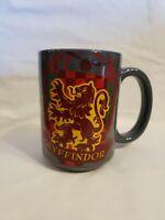 Harry Potter Gryffindor 2 Sided Ceramic Coffee Mug Cup 15oz Zak Warner Bros Gray