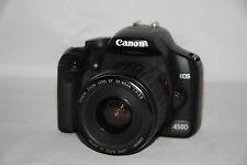 fotocamera EOS 450D Canon originale + obiettivo + accessori