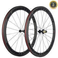Superteam Clincher Carbon Wheels 50mm Road Bike Carbon Wheelset Shimano10/11 S