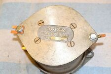 SOLAR CSL48123-5 HIGH-VOLTAGE TRANSMITTING CAPACITOR 2500 pf 12 KV 12,000 volts