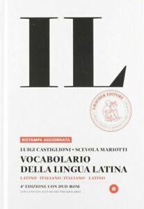 Loescher IL - Vocabolario della Lingua Latina Quarta Edizione - Copertina Rigida