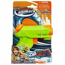 Brand New NERF Super Soaker ZIP FIRE Blaster ~ Mini Water Pistol ZIPFIRE