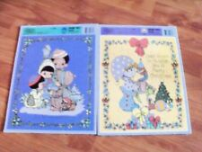 Golden Frame Tray Puzzle Precious Moments 12pc Ages 3-7 Set of Two 1992
