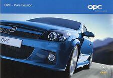 Prospekt 2005 Opel OPC Autoprospekt 11 05 DINA4 Astra Meriva Vectra Caravan 2005