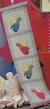 Miniature Angels Christmas Cross Stitch Pattern from magazine Bellpull