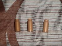 FAKE TOY COSPLAY 9MM LOT OF 3 UZI BULLETS