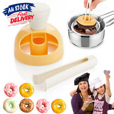Donut Mold Creative Cake Maker DIY Decorating Bread Cutter Tools Baking Desserts