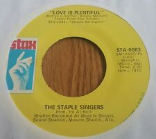 Staple Singers, The – Heavy Makes You Happy / Love Is Plentiful ~ (VG+)