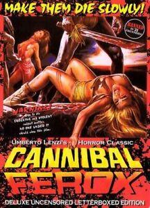 Cannibal Ferox DVD Neu