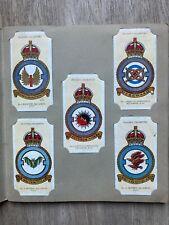 More details for john players cigarette cards - raf bomber squadrons 1937.  full set of 50.