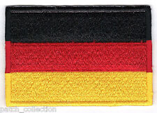Germany German Embroidered Country National Flag Iron On Emblem Patch Team