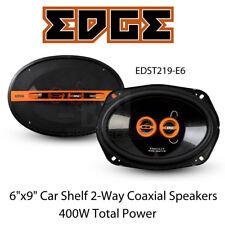 "Edge EDST219-E6 - 6""x9"" Car Shelf 2-Way Coaxial Speakers 400 Watts Total Power"