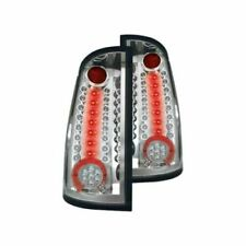 IPCW LEDT-3041C Chrome Fiber Optic LED Tail Lights For 2007-2013 GMC Sierra 1500