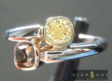 .71ctw Natural Brown and Yellow Diamond Bypass Ring R6675 Diamonds by Lauren