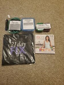 Lot of Beachbody 21 Day Fix Assorted Items , Lot of 11 , All New