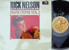 Ricky Nelson Dutch Reissue LP Rare items Vol.1 EX Teen idol Rock Pop