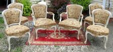 Louis Xv Fauteuil Hard To Find Set Of 6 French Chairs Circa 1760