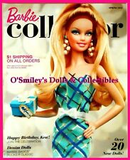 BARBIE COLLECTOR Reference & SPRING Price Guide Catalog 2011 in PROTECTOR SLEEVE