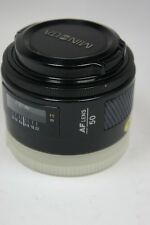 Minolta AF 50 mm F1.7 Portrait lens adapter to Sony Alpha reflex numérique
