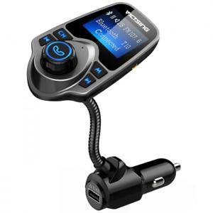 Victsing Bluetooth FM Transmitter T26 Wireless Bluetooth Radio