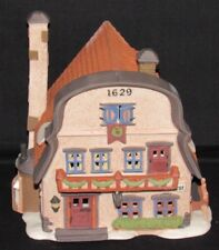 Vintage Dept 56 Christmas Alpine Village Metterniche Wurst Sausage Shop Retired