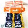 1260 Micro Slim Orange VENTTI Filter Tips + 1200 ROLLIES Cigarette Rolling paper