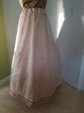Renaissance Lady's Outfit - Skirt/cap - Golden Beige - Med/Lge