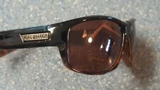 Road Warrior Black  Lined Sport Sunglasses Classic Motorcycle Strong Flexible