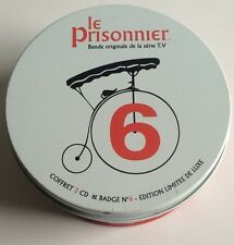 THE PRISONER LTD EDITION DELUXE 3-CD SET WITH BADGE IN TIN SILVA FRANCE 2002