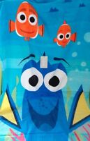 "Disney Finding Dory Nemo Beach Bath Swim Towel 30"" x 60"" Finding Soft Blue Fish"